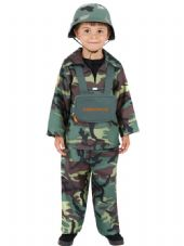 Childs Army Boy Costume